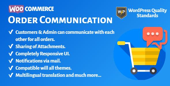 WooCommerce Order Communication