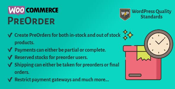WooCommerce PreOrder
